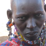 Canon... can't remember the model!  Unforgettable face. Amboseli, Kenya