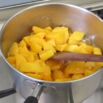 Fruit cooks very fast, remember not to overcook it