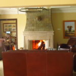 Fireplace... warm for those cold Nanyuki nights!