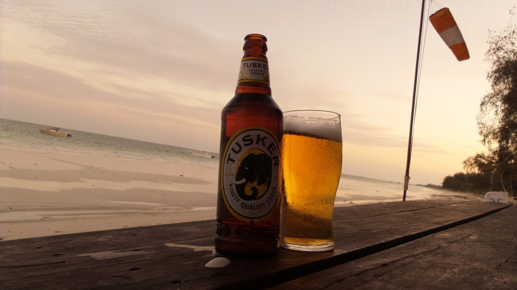 That Tusker Lager looked good!