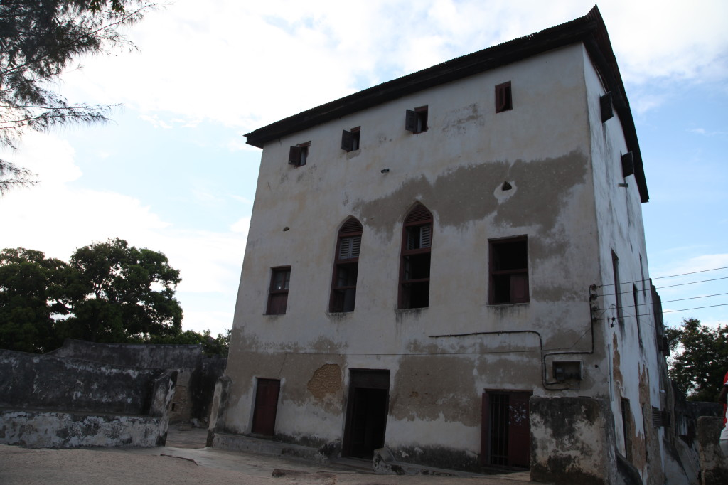 The old fort in Bagamoyo