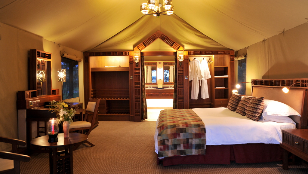 So inviting, the rooms at Serena Sweetwaters Camp