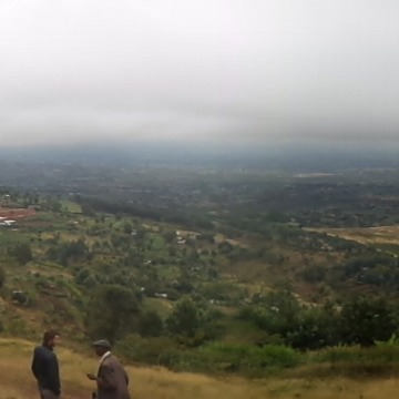 Great panorama of the area