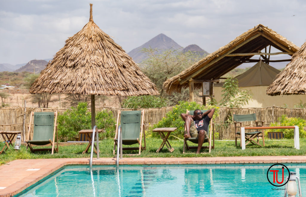 The Poolside at Cradle Hotel is the best sight, especially if you choose to drive to Lodwar