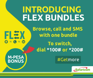 safaricom flex bundles