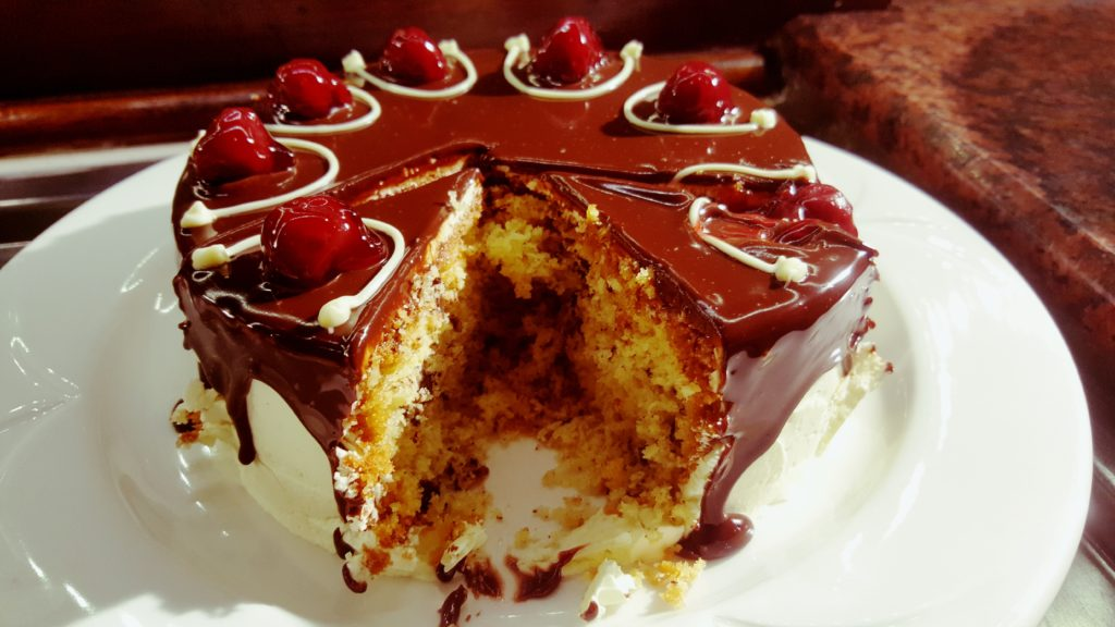Cake that sings to your heart, through your arteries. Well worth it!