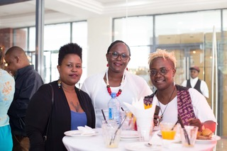 Shallom Muriuki, yours truly and Laura Walubengo